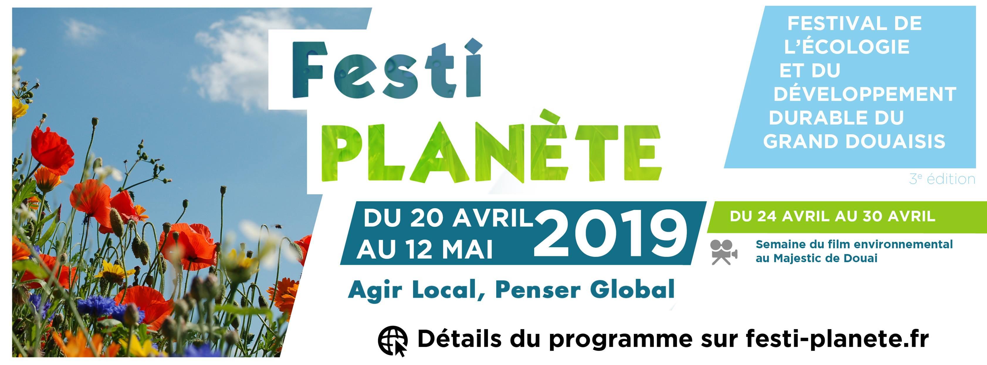 Festi Planète | 20 avril au 12 mai 2019