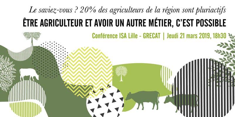 Conférence : être agriculteur et avoir un autre métier, c'est possible | 21 mars 2019