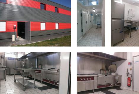 Laboratoire cuisine traiteur 230m²