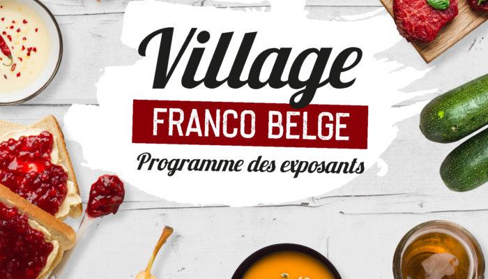 Couv Natexpo Village Franco-Belge