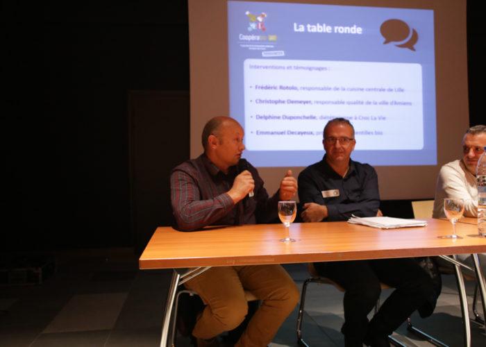 Emmanuel Decayeux producteur de lentilles dans la Somme