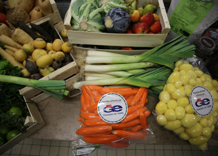 Merci à SALRL 5 GE pour les carottes et pommes de terre