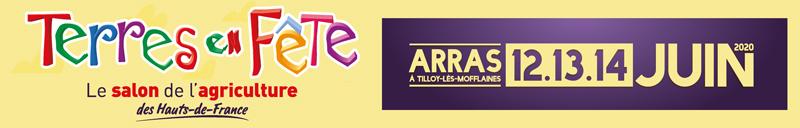 📅 12 – 14 JUIN 2020 | Terres en fêtes :  Tilloy-lès-Mofflaines près d'Arras