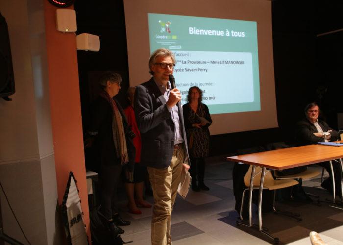 Mot d'acceuil par Grégoire Dupont Président d' A PRO BIO